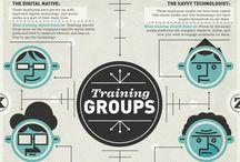 Work infographics