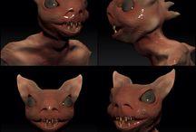 Bat Creature / Zbrush