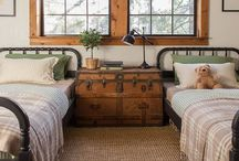 Farmhouse style bedrooms