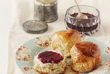 Scones, muffins and cup cakes