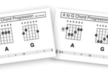 music class guitar / by Mandy Bailey