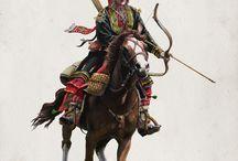 huns, warrior, barbarians