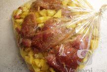 jídlo z pečícího sáčku