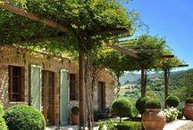 Provençal cases i jardins
