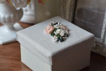 Silk Ribbon Embroidery / Handcrafted silk ribbon embroidered boxes & more