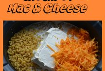 Slow Cooker Macaroni & Cheese / Slow cooker meals