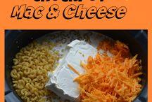 Mac and cheese crock pot