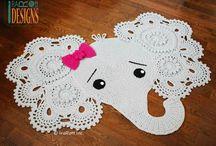 elephants mat