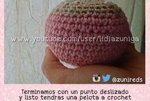 Tutorial #CrochetBall / Aquí les comparto mi resultado ☺♥ solo por el gusto de compartir #crochet #pattern #patron #ganchillo #pelota  #Ball #gancho #tejeymaneje #zunireds