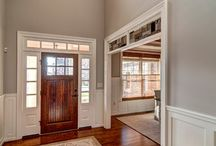 Our Entry and Hall Ways / A collection of custom entry way and halls by Farinelli Construction,Inc.  / by Farinelli Construction & Design Studio
