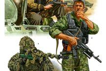 Спецназ и армии мира
