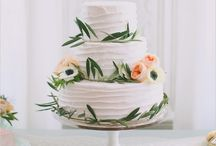 Wedding Day Cakes and Food