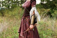 costume arciere donna