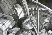 Gary Drostle / Artworks by London artist Gary Drostle