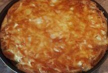 ekmek  yapılan börek