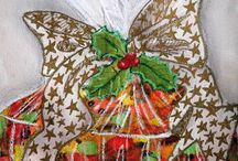 IT'S CHRIIIIISSSTTTMMMAASS! / Here's some of the Christmas offerings from our DoodleDoo registered Artists.  Visit www.doodle-doo.co.uk and choose Occasions - Christmas for our full Christmas selection.  You'll find multiple and bulk card discounts available at your basket and we'll donate 10% of the value of your order to the Charity of your choice PLUS we'll deliver your cards free.