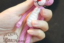 Dolls. Knitting Toys