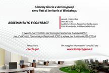 Workshop Arredamento e Contract giovedì 11 dicembre / Alma sarà presente giovedì 11 dicembre a Milano al workshop Arredamento e Contract