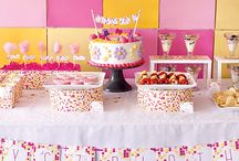 Pattern & Texture Parties / Find your favorite pattern or texture and make it your party theme!