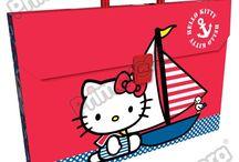 Maletines Plásticos Hello Kitty / Línea Escolar Primavera Regresa a Clases con TODO