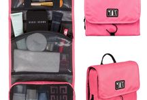 Travel makeup organizer