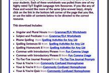 speech language goodies / by Delia Bauer