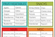 Kids lunch/ snacks ideas