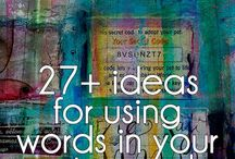 Art journal ideas.