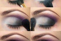 Maquiagem esfumaçada para olhos