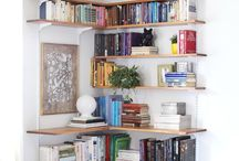 home book shelves