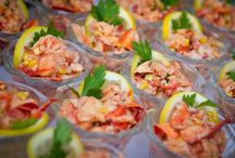 Fosters Catering / Upscale catering and authentic Maine lobster bakes for millennium weddings, corporate and business events, fundraisers and social outings.