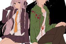 Kirigiri and Nagito
