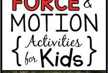 Force and Motion PreK-1st