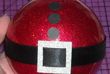 Plexi glass christmas balls