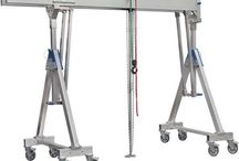 Ellsen low price aluminum gantry crane for sale