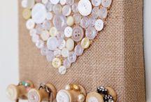 Vintage crafts and display ideas