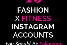 //FITNESS / All things fitness / by // THE FASHION SPOT