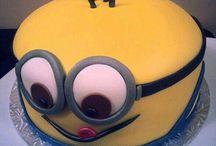 minion cake for darren