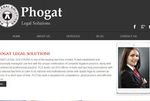Phogat Legal Solutions / PHOGAT LEGAL SOLUTIONS is one of the leading law firms in India. A well established and professionally managed Law firm with the unique combination of complete litigation practice, along with the commercial professional practice.PLS has built a reputation for competence, good practice and effective service.