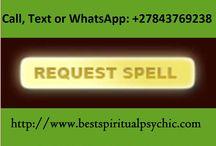Spiritual Life Coach, Call / WhatsApp +27843769238