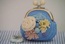 framed purse