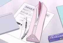 Anime things