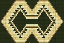 Схемы для мочилло 1 / орнаменты,схемы