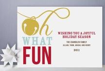 Christmas Card Inspiration / by Jessica Carter