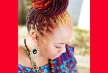 Locs Twists Braids / by Naomi Brown