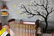 copaci / desen perete