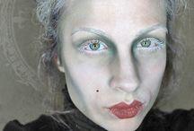 Assombração makeup