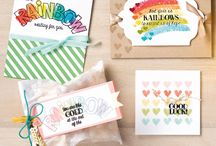 Stampin' Up! ~ Over the Rainbow