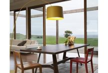 Living + Dining Spaces / Dinning room furniture and design ideas