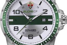 Duward, el reloj oficial del Elche CF / Imágenes de los relojes oficiales del club de fútbol Elche CF Oficial